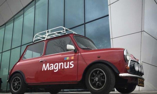 De 'Grande Première' van de Magnus e-Mini